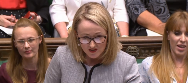 Image result for rebecca long bailey despatch box